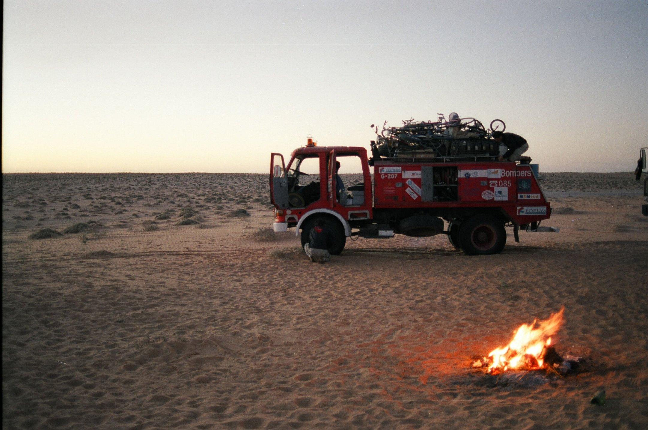 En trànsit al Sàhara