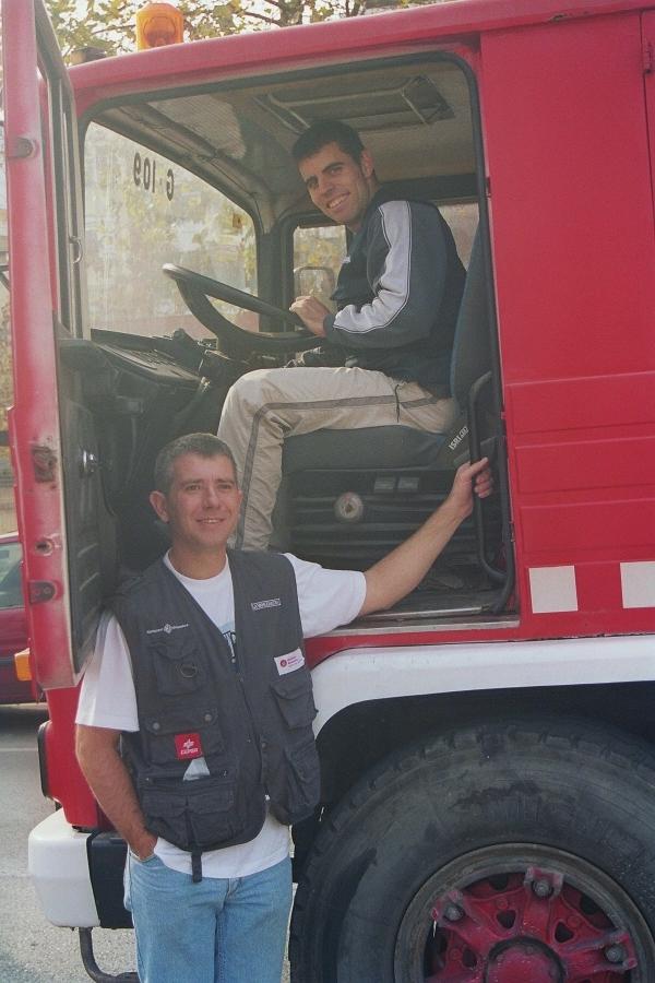 Reponsables de portar el camió fins a Mauritània