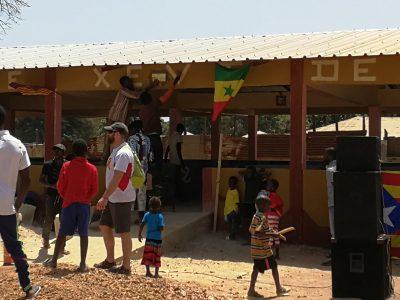 Construcció del mercat cobert a Diannah