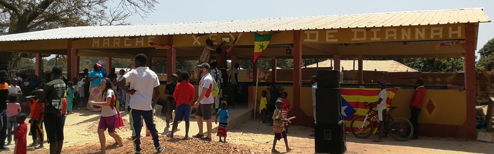 Inauguració del mercat de Diannah